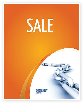 Business Concepts: Chain Sale Poster Template #04056