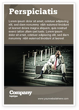 People: Economic Crisis Ad Template #04061