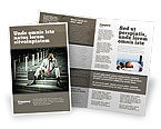 People: Economic Crisis Brochure Template #04061