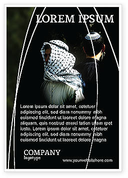 People: Arabisch-israëlisch Conflict Advertentie Template #04064
