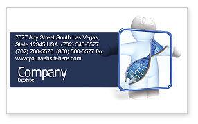 DNA Diagnostics Business Card Template, 04067, Medical — PoweredTemplate.com