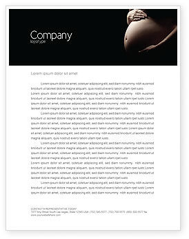 Medical: Childbearing Letterhead Template #04071