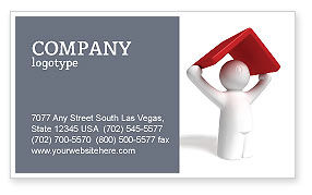 Consulting: Shelter Business Card Template #04072