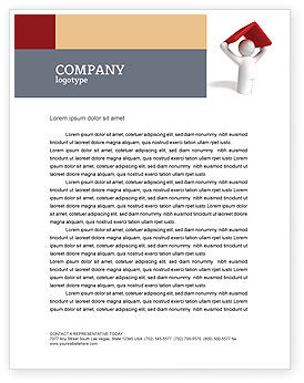 Shelter Letterhead Template, 04072, Consulting — PoweredTemplate.com