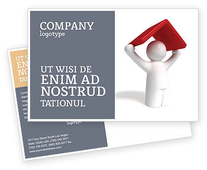 Consulting: Shelter Postcard Template #04072