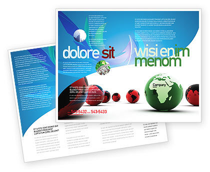 Another World Brochure Template