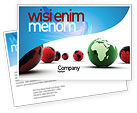 Global: Another World Postcard Template #04074