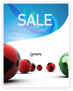 Another World Sale Poster Template