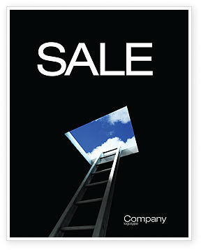 New Hope Sale Poster Template, 04077, Consulting — PoweredTemplate.com