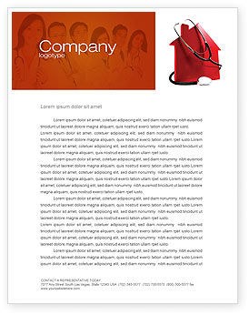 Financial/Accounting: Home Economy Letterhead Template #04079