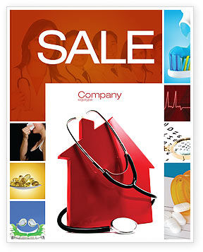 Home Economy Sale Poster Template, 04079, Financial/Accounting — PoweredTemplate.com