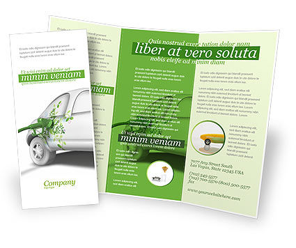 Biogas Brochure Template, 04080, Nature & Environment — PoweredTemplate.com