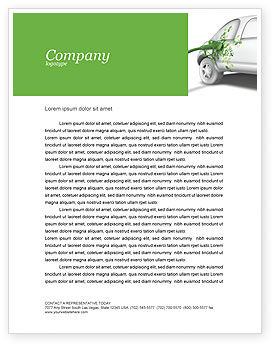 Nature & Environment: Biogas Letterhead Template #04080