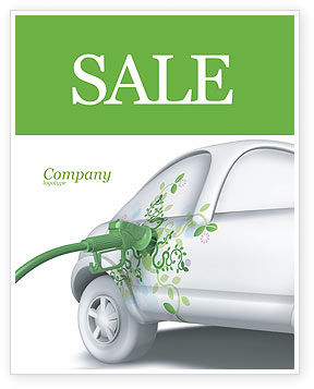 Nature & Environment: Biogas Sale Poster Template #04080