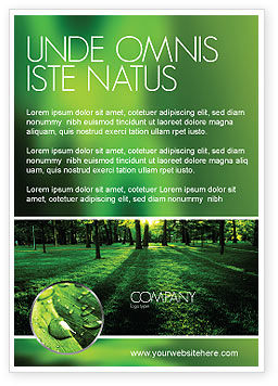 Nature & Environment: Woods Ad Template #04082