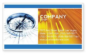 Choosing Direction Business Card Template, 04091, Business Concepts — PoweredTemplate.com