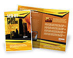 Construction: Skyline Of A City Brochure Template #04096