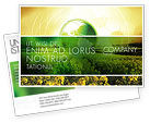 Nature & Environment: Modern Agriculture Postcard Template #04097