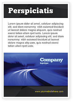 Consulting: Blue Twilight Movement Ad Template #04102
