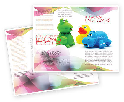 Education & Training: Stuffed Toys Brochure Template #04109