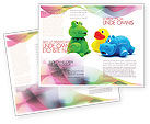 Education & Training: Modello Brochure - Peluches #04109
