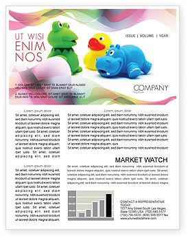 Stuffed Toys Newsletter Template