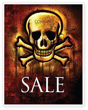 Military: Modello Poster - Segno pirata #04124