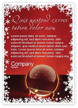 Fortune-telling Ad Template, 04128, Holiday/Special Occasion — PoweredTemplate.com