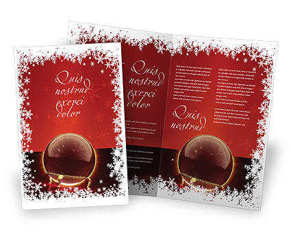 Holiday/Special Occasion: Fortune-telling Brochure Template #04128