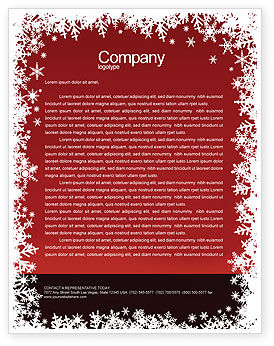Fortune-telling Letterhead Template, 04128, Holiday/Special Occasion — PoweredTemplate.com