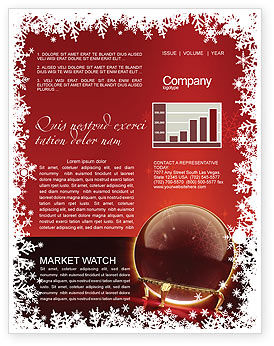 Holiday/Special Occasion: Fortune-telling Newsletter Template #04128