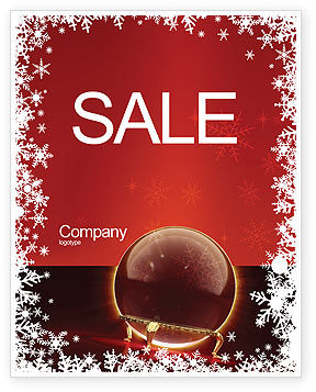 Holiday/Special Occasion: Fortune-telling Sale Poster Template #04128