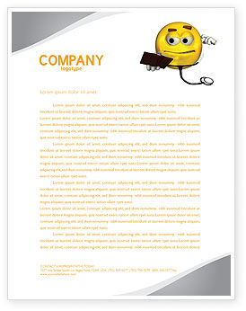 Medical: Diagnostics Letterhead Template #04133