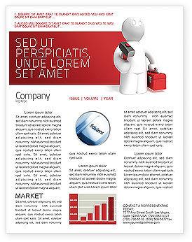 Utilities/Industrial: Modelo de Newsletter - suporte técnico #04135