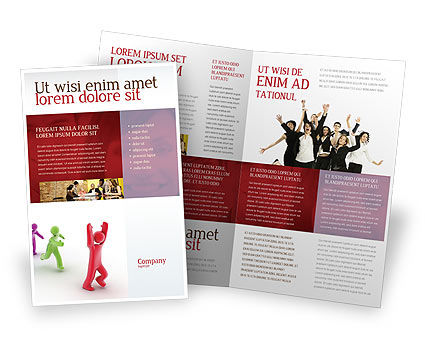 Consulting: Victory Brochure Template #04144