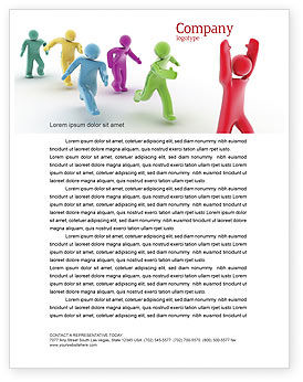 Victory Letterhead Template, 04144, Consulting — PoweredTemplate.com