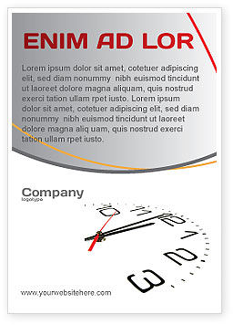 Noon Ad Template, 04149, Business — PoweredTemplate.com