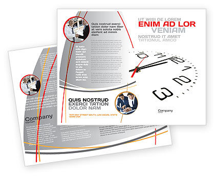 Business: Noon Brochure Template #04149