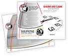 Business: Modelo de Brochura - meio-dia #04149