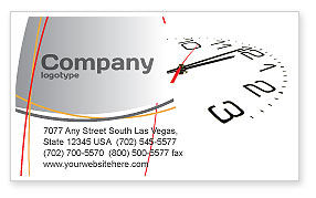 Noon Business Card Template, 04149, Business — PoweredTemplate.com