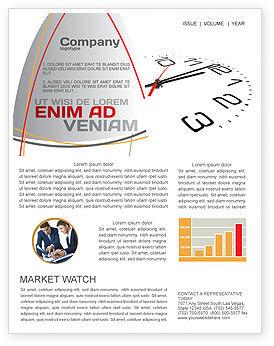Noon Newsletter Template, 04149, Business — PoweredTemplate.com
