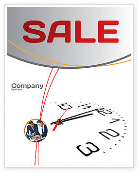 Business: Noon Sale Poster Template #04149