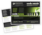 Global: Wereld Eenheid Brochure Template #04151