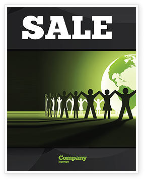 World Unity Sale Poster Template, 04151, Global — PoweredTemplate.com