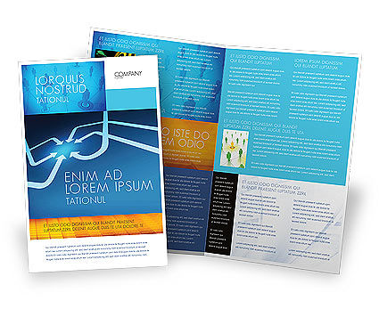 Business Concepts: Arrow Point Brochure Template #04157