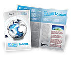 Global: World Turns Brochure Template #04162