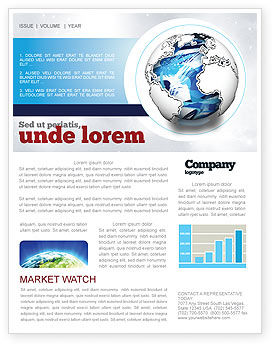 Global: World Turns Newsletter Template #04162
