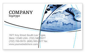 Economy Business Card Template