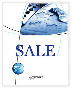 Economy Sale Poster Template, 04164, Financial/Accounting — PoweredTemplate.com