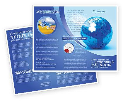 World Reconstruction Brochure Template